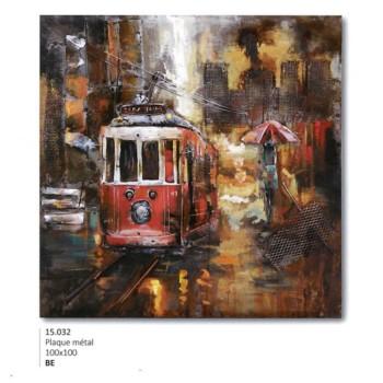 art métal tram