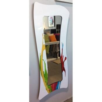 Miroir curvart Blanc