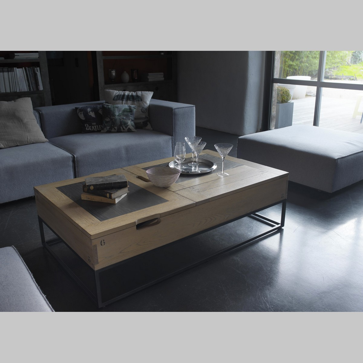 table basse relevable catalogue