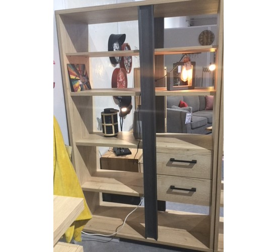 Biblioth que leed 39 s tiroirs home votre magasin de meuble et d co - Magasin de meuble bibliotheque ...