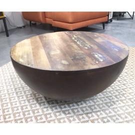 TABLE BASSE EGG