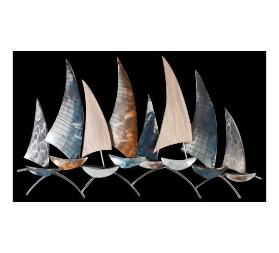 bateaux metal bois